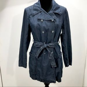 Talbots Jean Jacket with Matching Belt